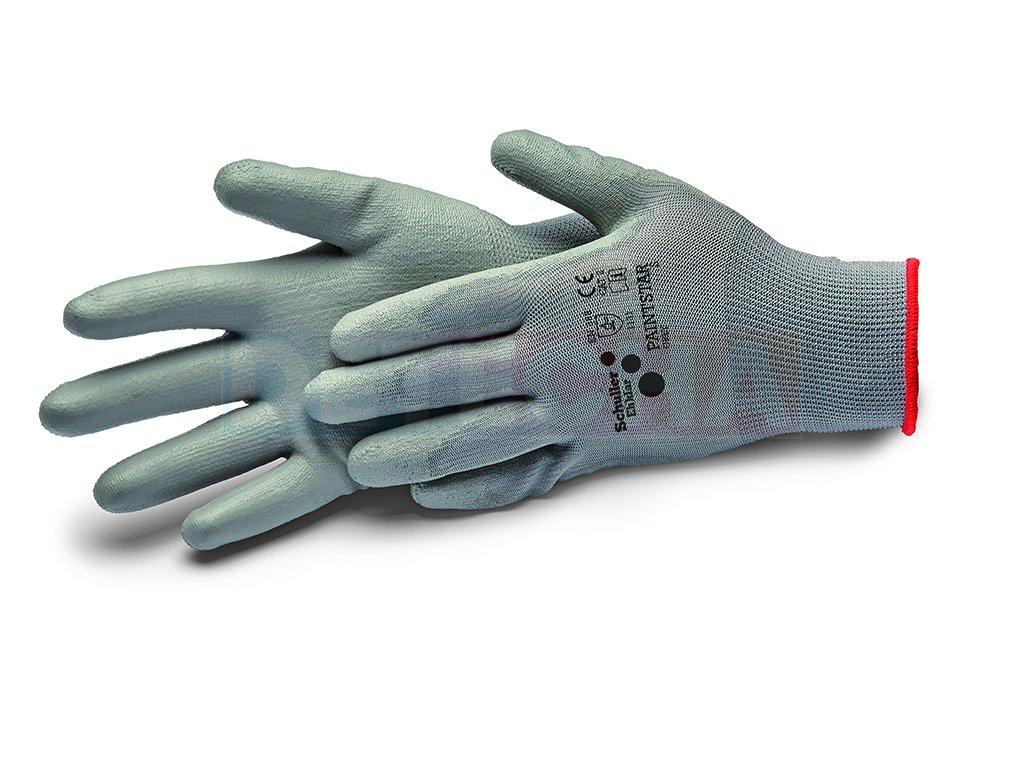 schuller rukavice paintstar grey