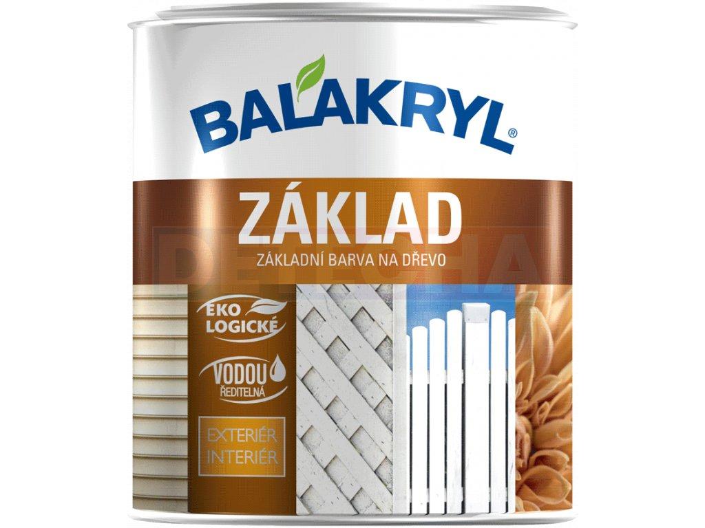 Balakyryl Zaklad Na Drevo Biely