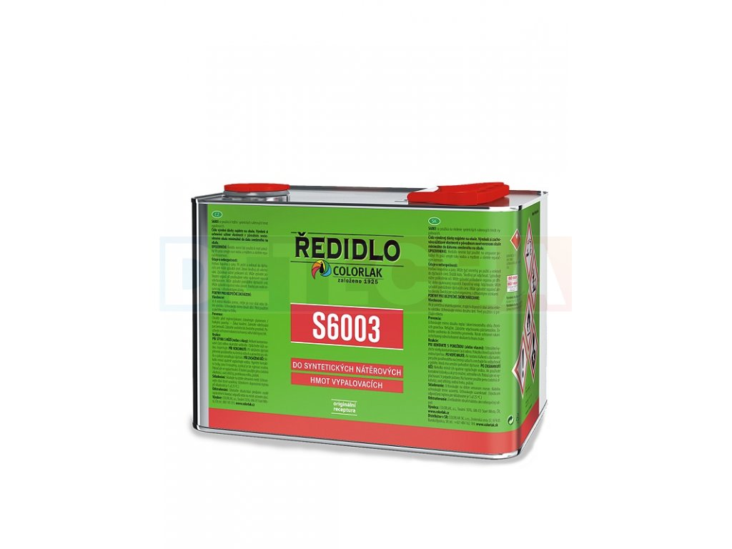 Colorlak Riedidlo S 6003 Riedenie Vypalovacich Farieb