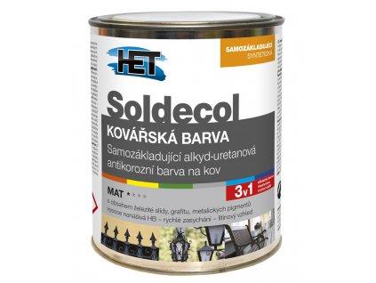 HET Soldecol kováčska farba (Objem 0,75 l)