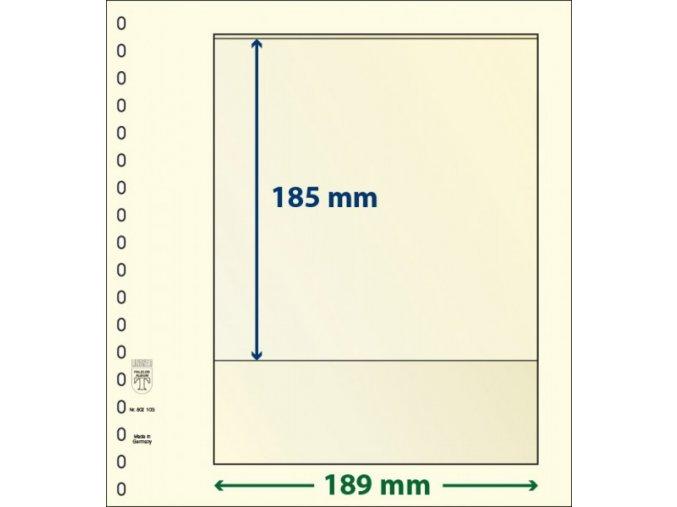 Albový list 802103 - 1 kapsa T-Blank Lindner
