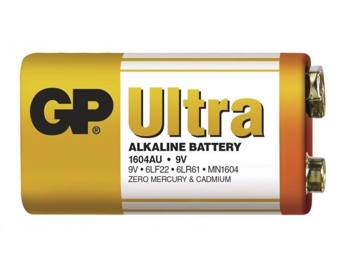 Alkalická baterie GP Ultra 6LF22 (9V)