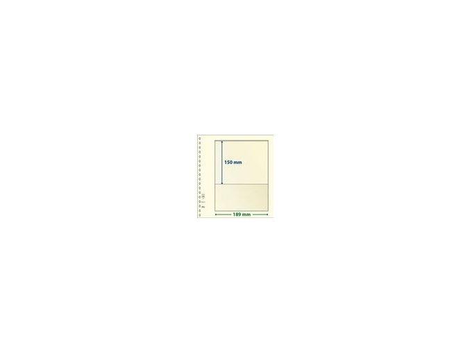 Albový list 802101 - 1 kapsa T-Blank Lindner