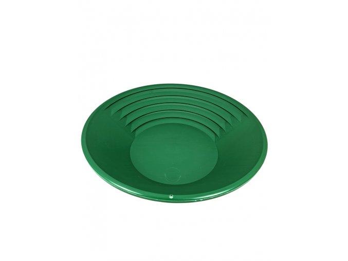 Rýžovací pánev na zlato Klondike 37 cm - zelená