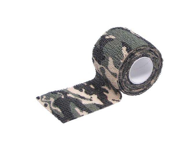 Maskovací páska Woodland 5 cm x 4,5 m