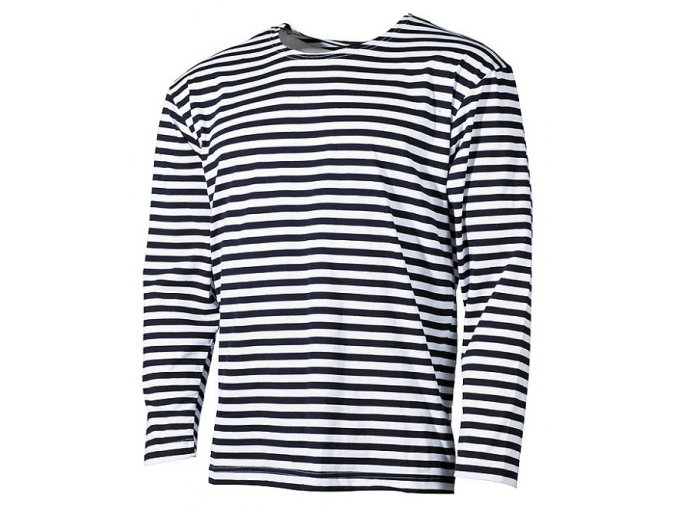 Tričko námořnické s dlouhým rukávem
