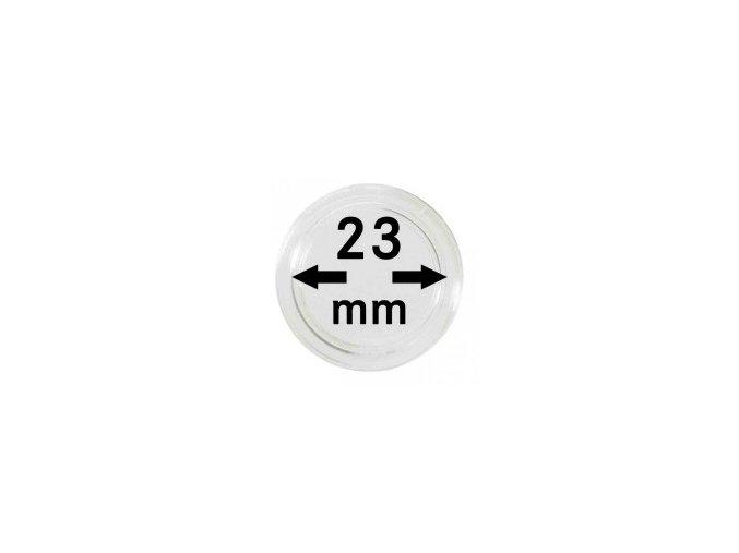 Kapsle na mince 23 mm