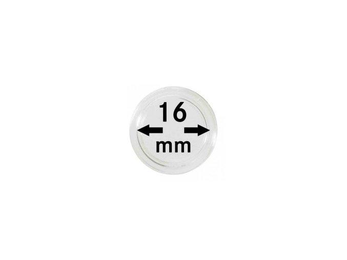 Kapsle na mince 16 mm