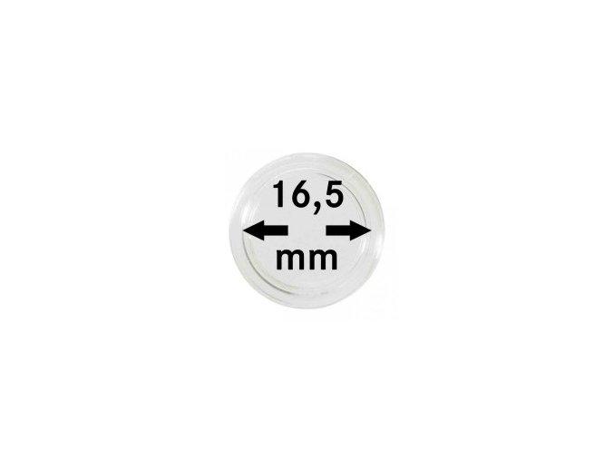 Kapsle na mince 16,5 mm