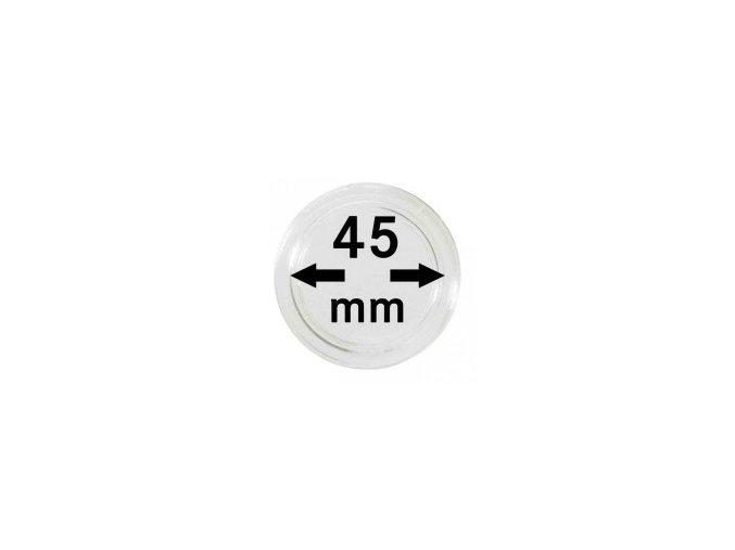 Kapsle na mince 45 mm