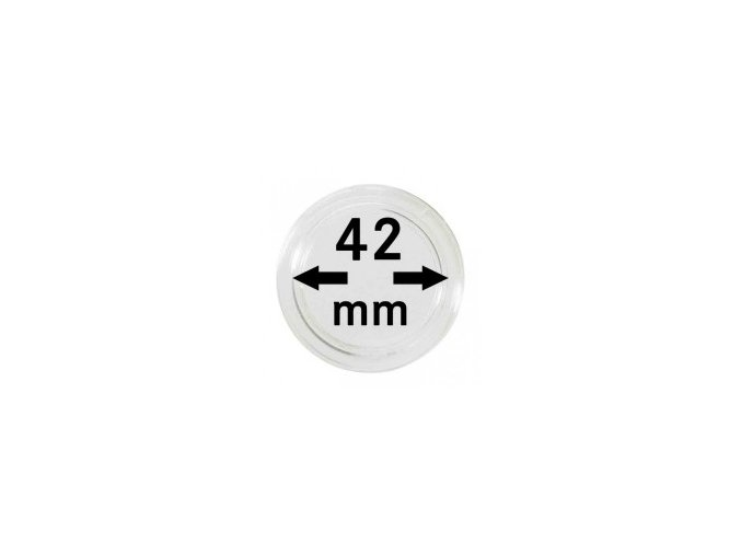 Kapsle na mince 42 mm