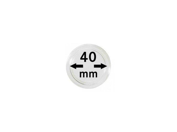 Kapsle na mince 40 mm