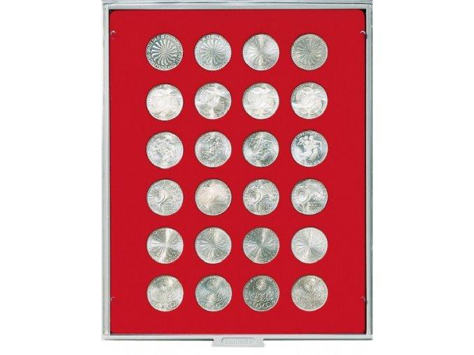 Kazeta na 24 mincí, průměr 32,5 mm Standard 2110