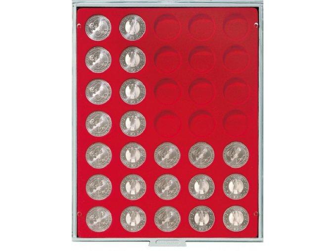 Kazeta na 35 mincí, průměr 32,5 mm Standard 2111