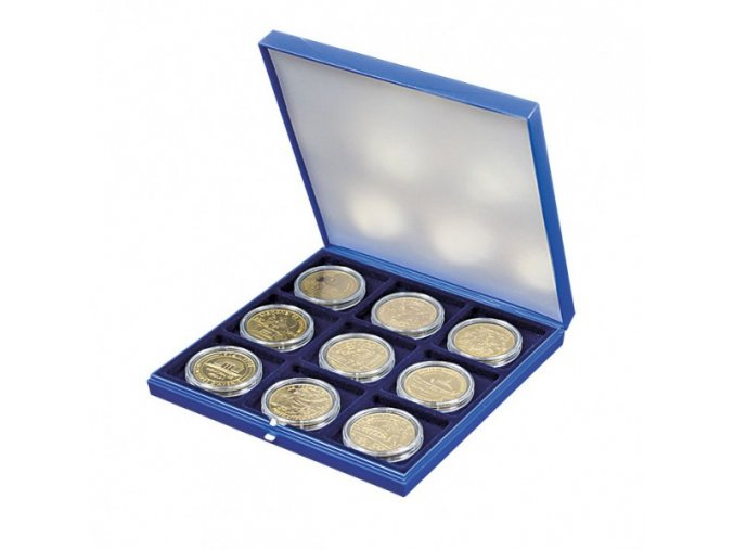 Etue na 9 mincí, průměr 48 mm 2005