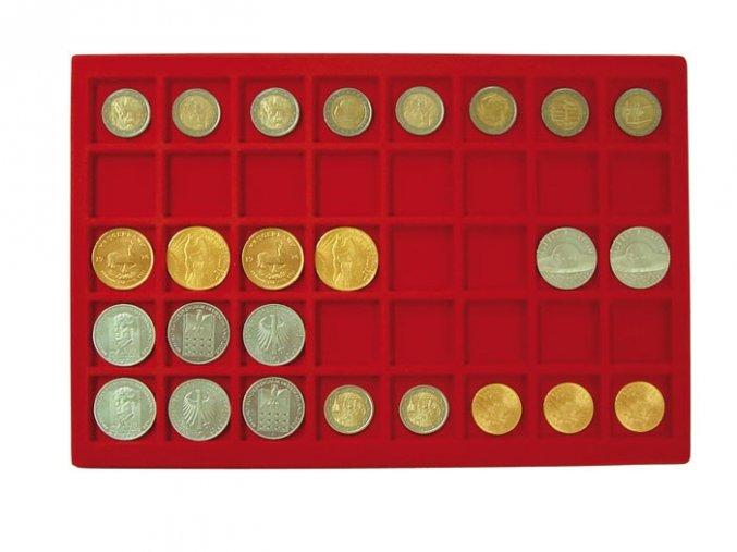 Podnos pro 40 mincí, průměr 34 mm 2329-40