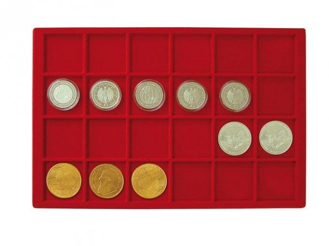 Podnos pro 24 mincí, průměr 45 mm 2329-24