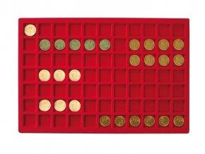 Podnos pro 77 mincí, průměr 24 mm 2329-77