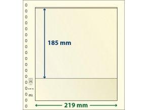 Albový list 802109 - 1 kapsa T-Blank Lindner