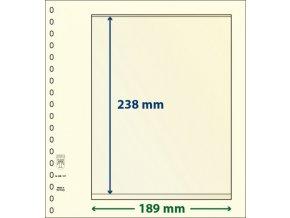 Albový list 802107 - 1 kapsa T-Blank Lindner