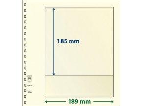 Albové listy 802103P - 1 kapsa T-Blank Lindner