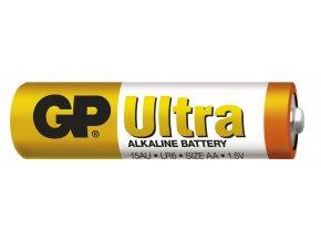 Alkalická baterie GP Ultra LR6 (AA), 2 ks ve fólii