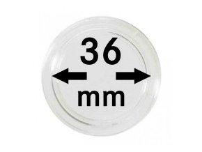 Kapsle na mince 36 mm