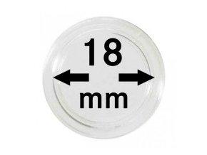 Kapsle na mince 18 mm