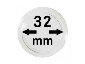 Kapsle na mince 32 mm