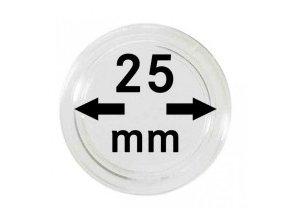 Kapsle na mince 25 mm