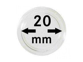 Kapsle na mince 20 mm