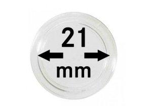 Kapsle na mince 21 mm