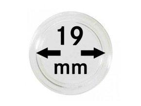 Kapsle na mince 19 mm