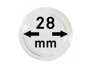 Kapsle na mince 28 mm