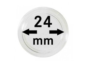 Kapsle na mince 24 mm