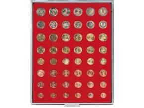 Kazeta na 48 mincí, různé průměry Standard 2506