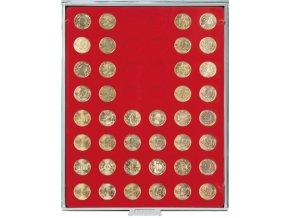 Kazeta na 48 mincí, průměr 24,25 mm Standard 2549
