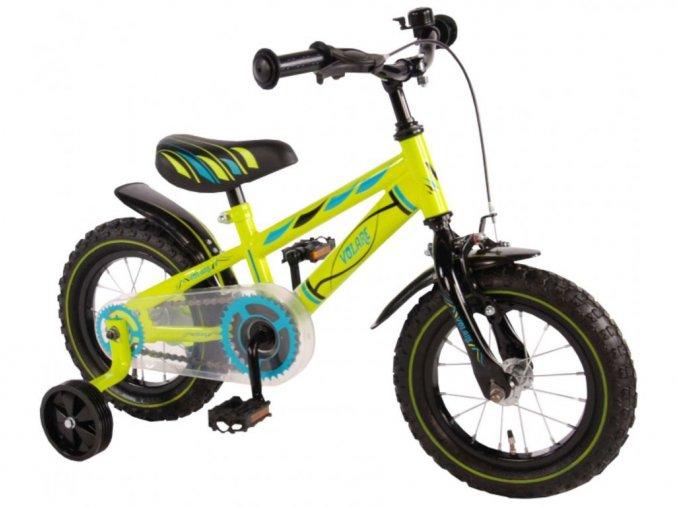 "Detský bicykel Volare Electric Green 12"""