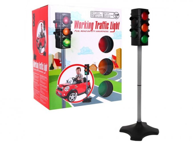 Majlo Toys detský dopravný semafor