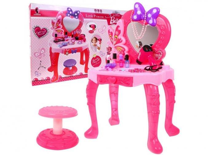 Majlo Toys detský toaletný stolček Little Princess
