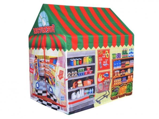 Ecotoys detský stan Supermarket