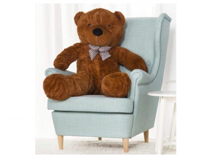 Plyšový medveď Kvído 130 cm hnedý