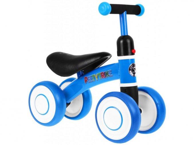 Mini detské odrážadlo Petty Trike modré