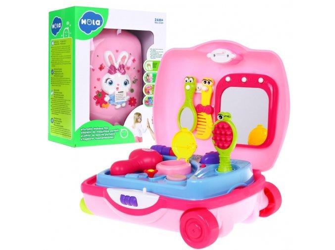 Huile Toys toaletní stolecek v kufriku