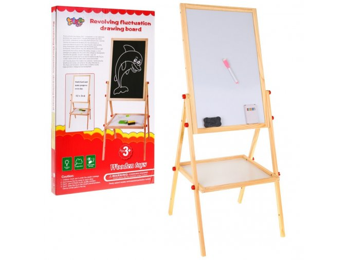 Majlo Toys oboustranna kreslici tabule Drawing Board
