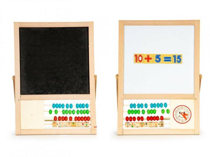 Ecotoys kreslici tabule Abacus Board 5