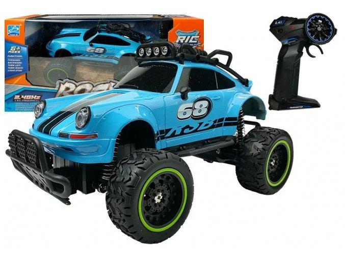 Auto na dalkove ovladani Brouk modre 1 18