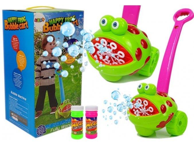 bublinkovac Vesela zabka fialovy