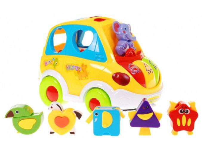 Huile Toys interaktivni auticko Smartbus