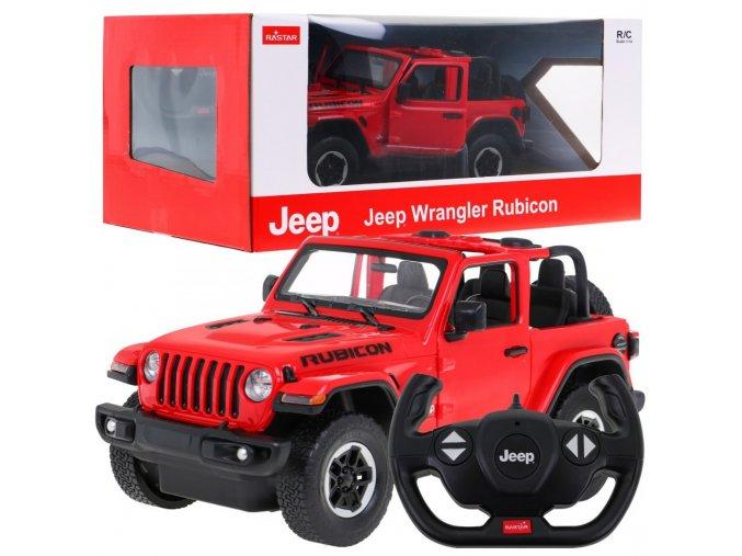 auto na dalkove ovladani JEEP Wrangler JL 1 14 cervene
